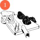 Рецепты шефов: Жаркое из бараньей лопатки с сухофруктами. Изображение №4.