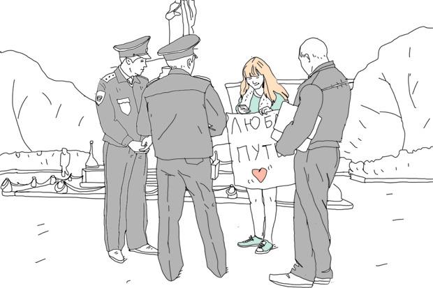 Эксперимент The Village: Как провести одиночный пикет в Москве. Изображение №3.