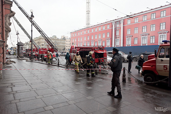 В Петербурге горел дворец Белосельских-Белозерских. Изображение № 5.