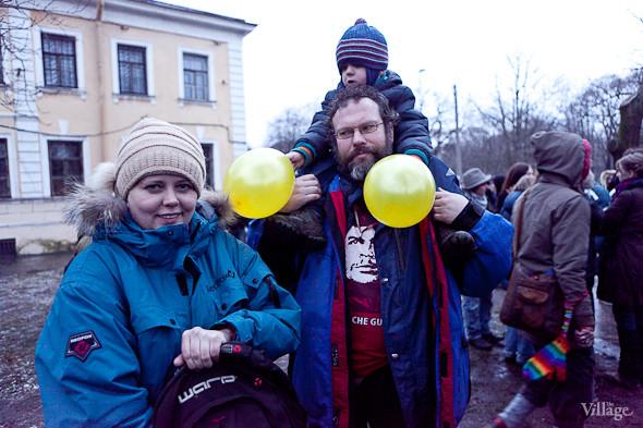 Фоторепортаж: Митинг против фальсификации выборов в Петербурге. Изображение № 30.