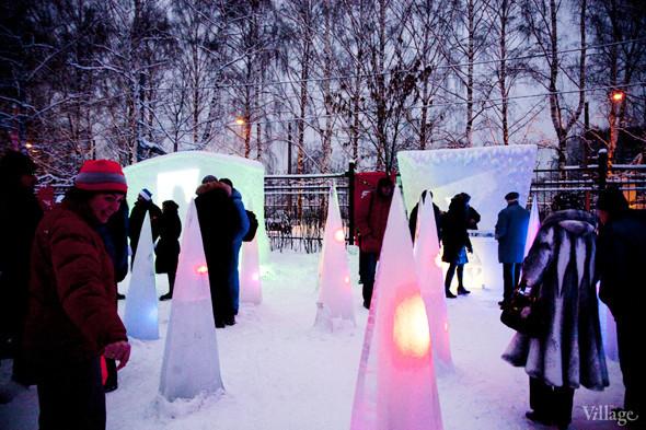 В парке «Сокольники» построили Moroz City. Изображение № 12.