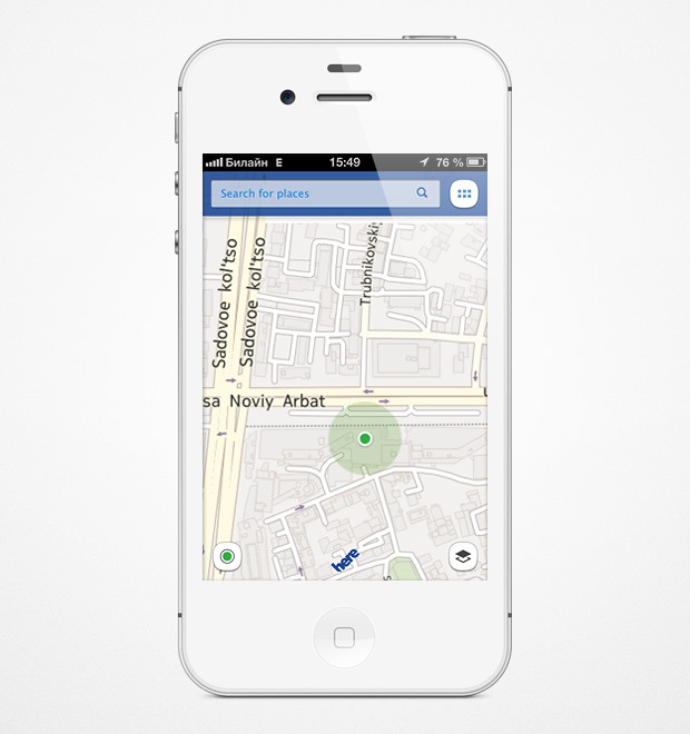 Nokia выпустила приложение с картами для iOS. Изображение №1.
