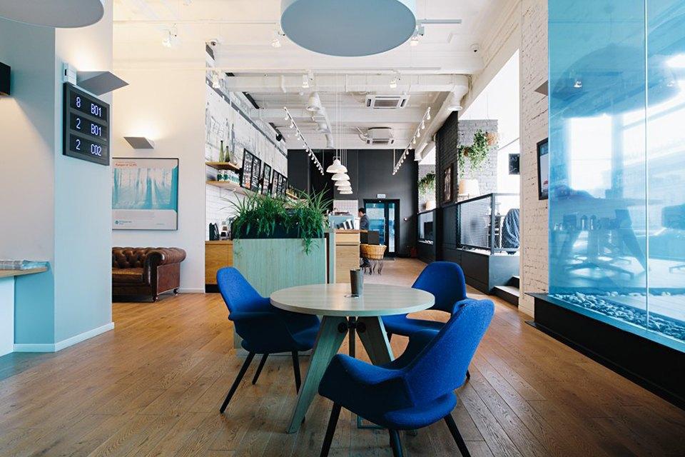 Отделение банка«Открытие», совмещённое с кофейней. Изображение № 2.
