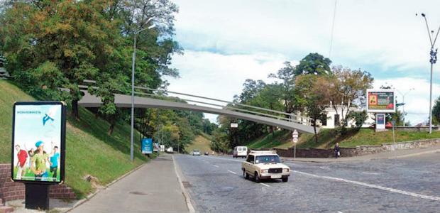 Проект моста через Владимирский спуск. Изображение № 2.