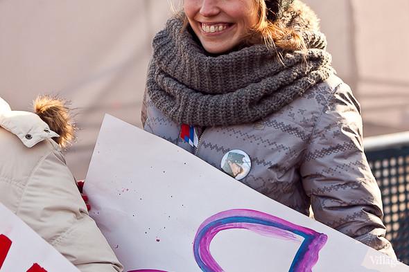 Фоторепортаж: Митинг в поддержку Путина в Петербурге. Изображение № 31.