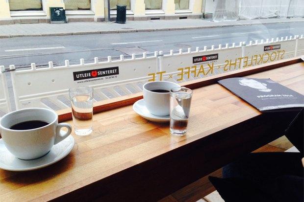 Где пить кофе вОсло. Изображение № 1.