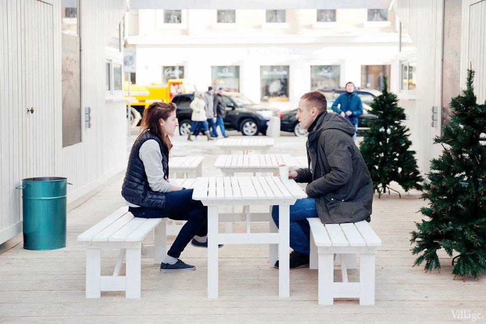 Фоторепортаж: «Тёплые места» в пешеходных зонах. Изображение № 12.