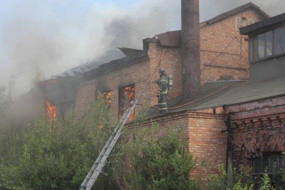 Утром горел корпус бывшего Варшавского вокзала. Изображение № 1.