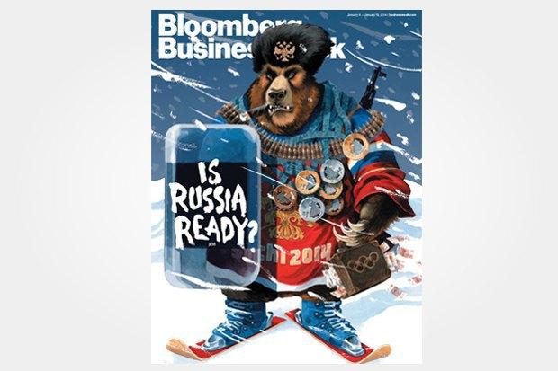 Олимпиада в Сочи на обложках зарубежных изданий. Изображение № 4.