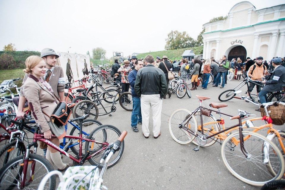 Second Time: В Киеве прошёл второй велокруиз в стиле ретро. Изображение № 15.