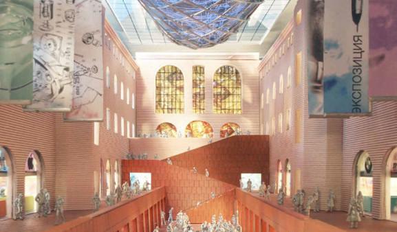 Теория вероятности: 4 проекта реконструкции Политехнического музея. Изображение № 21.