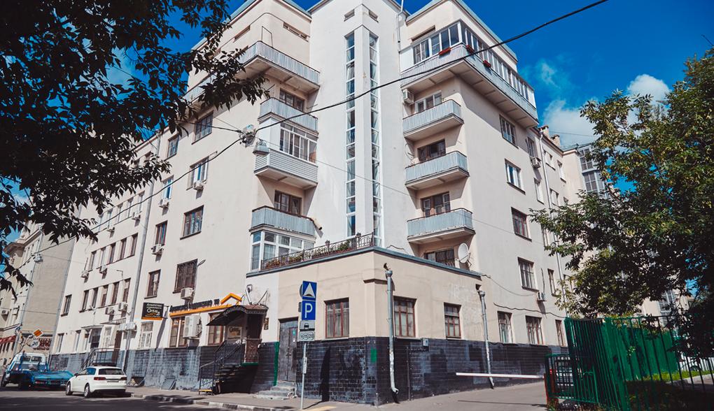 Жилой дом конца 1920-х, архитектор В. Ганешин, 1-й Новокузнецкий пер., 18. Изображение № 5.