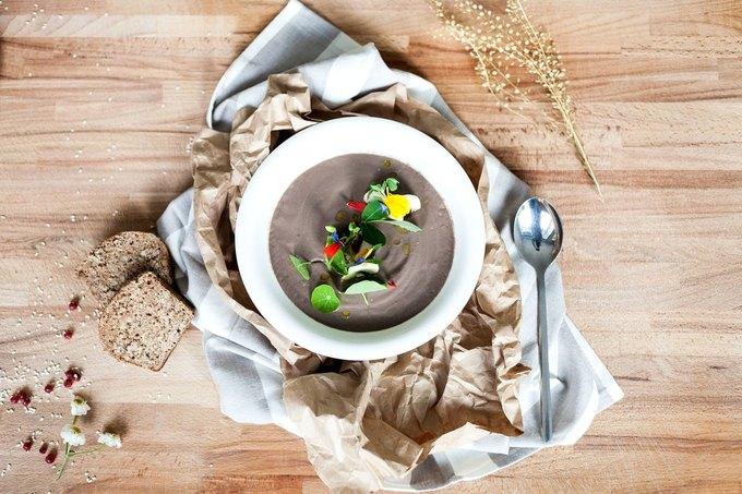Грибной крем-суп. Изображение № 1.