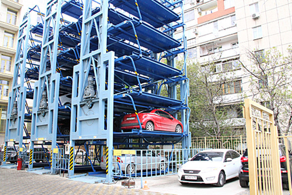 В центре Петербурга появятся автоматические паркинги между домами. Изображение № 2.