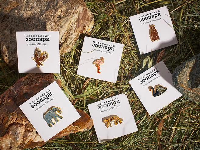Бренд Heart of Moscow выпустил сувениры для Московского зоопарка. Изображение № 1.