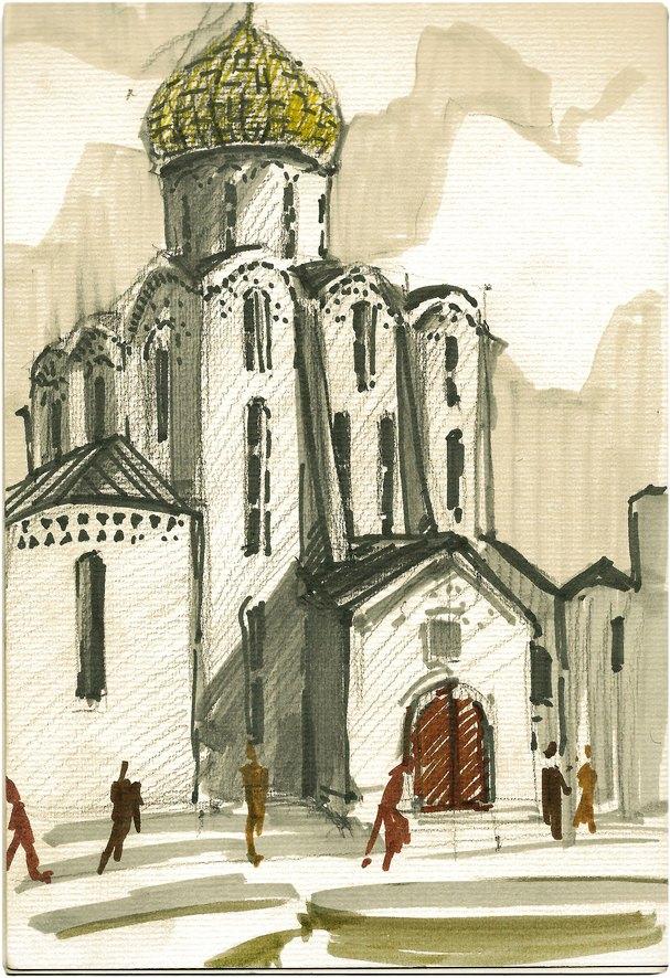 Клуб рисовальщиков: «Белая площадь». Изображение №1.
