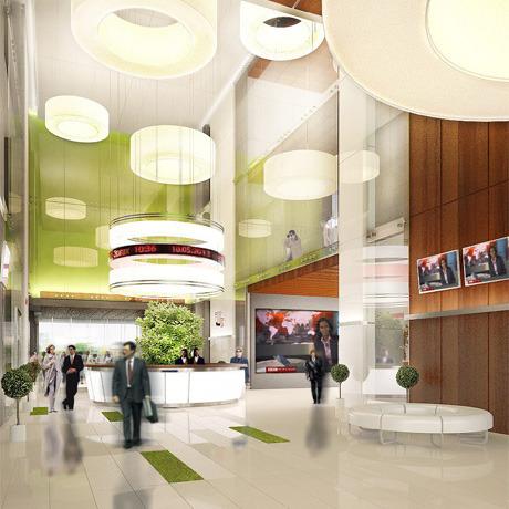Для комплекса «Парковый» разработали дизайн интерьера. Зображення № 1.