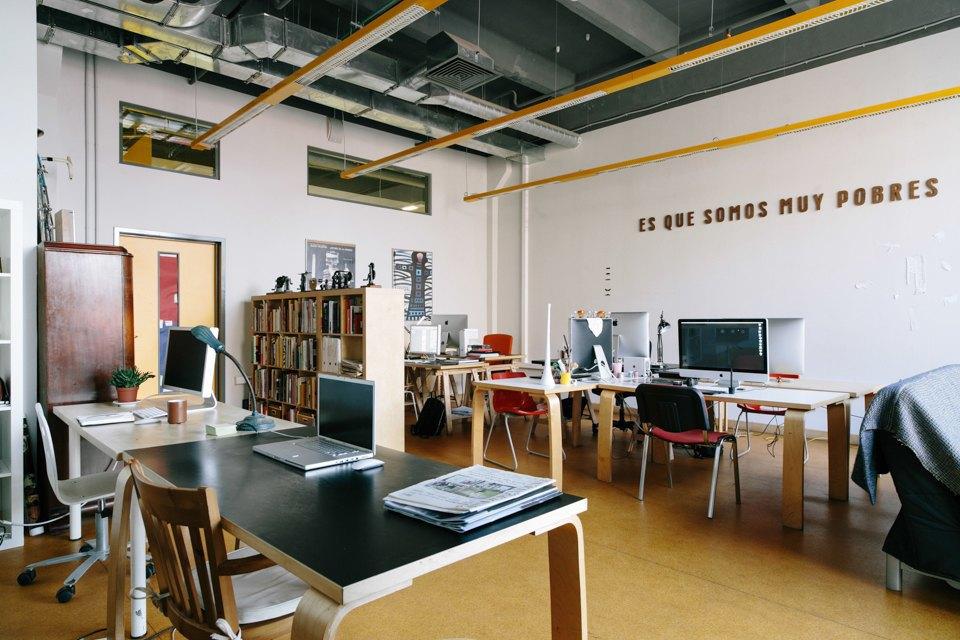 Офис дизайн-бюро «Щука» с усами на стенах. Изображение № 2.