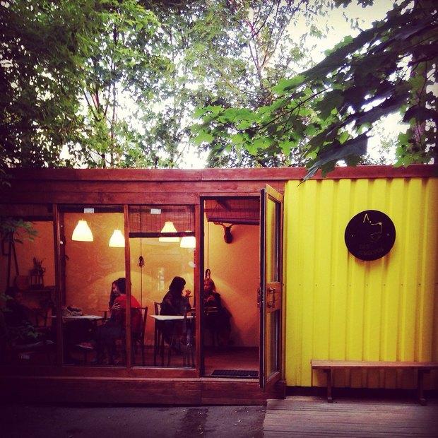 В «Третьем кластере» открылось кафе в контейнере . Изображение № 1.