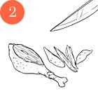 Рецепты шефов: Крем-суп из цукини и мяты с мясом утки и творожным сыром. Изображение № 4.