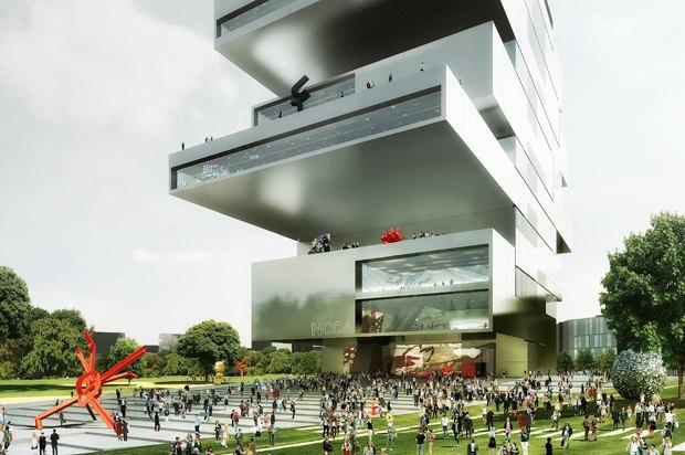 Здание ГЦСИ спроектирует ирландское бюро. Изображение № 1.