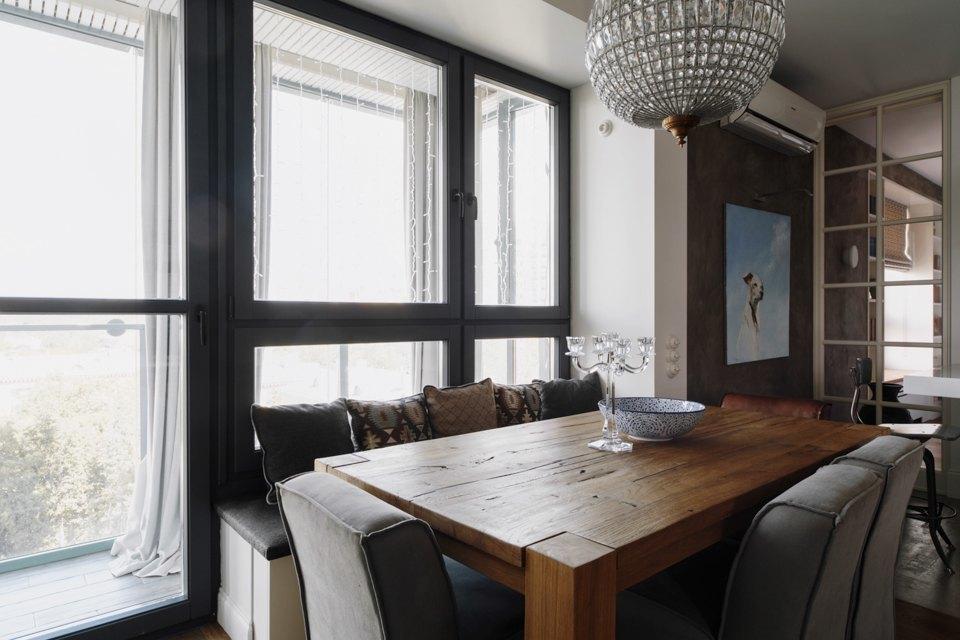 Четырёкомнатная квартира в американском стиле для семьи сдвумя детьми. Изображение № 15.