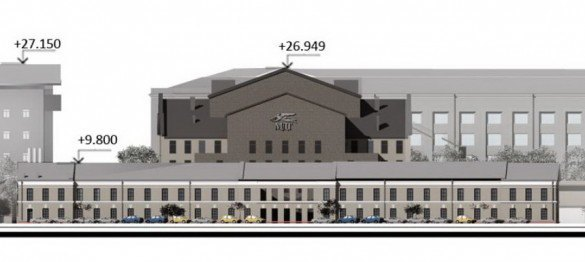 Мастерская Мамошина представила проект нового здания МДТ. Изображение № 4.