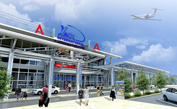 Полёт нормальный: Реконструкция аэропорта Киев. Изображение № 1.