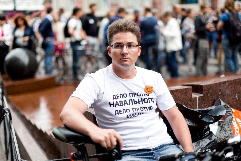 Фоторепортаж: «Народный сход» вподдержку Навального вПетербурге. Изображение № 2.