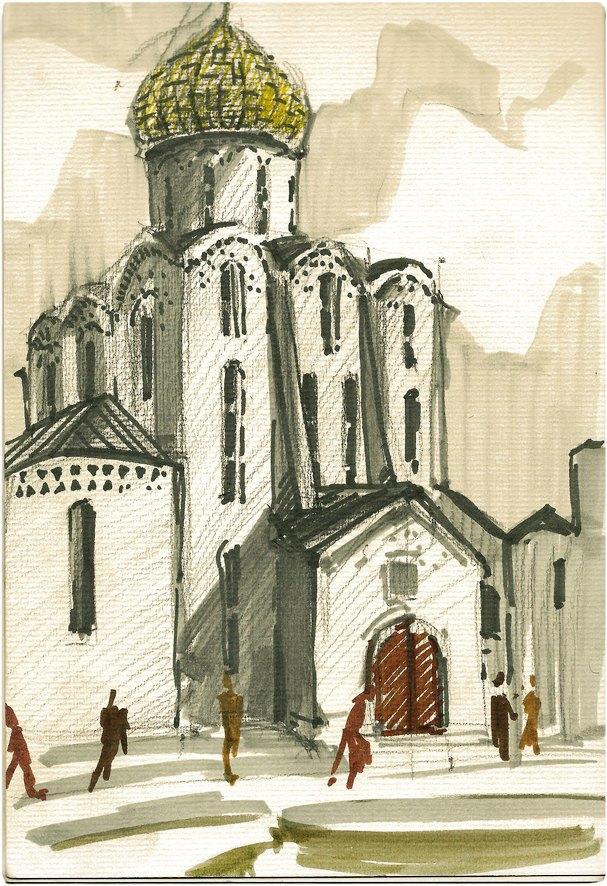 Клуб рисовальщиков: «Белая площадь». Изображение № 1.