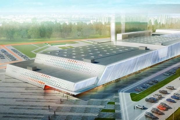 Эскизный проект спортивного комплекса хоккейного клуба «СКА» . Изображение № 3.