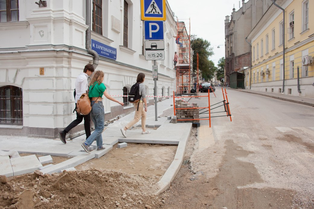Её раскопали: Пешеходные улицы Москвы за месяц до открытия. Изображение № 6.