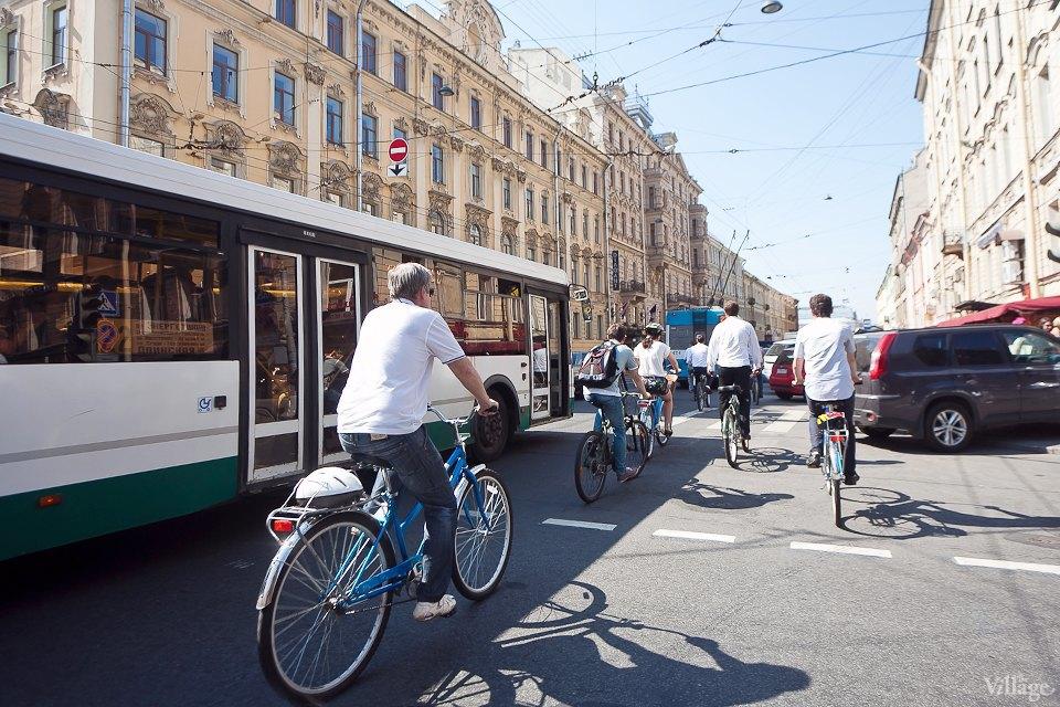 Где наши мигалки: Как петербургские депутаты пересели на велосипеды. Изображение № 21.