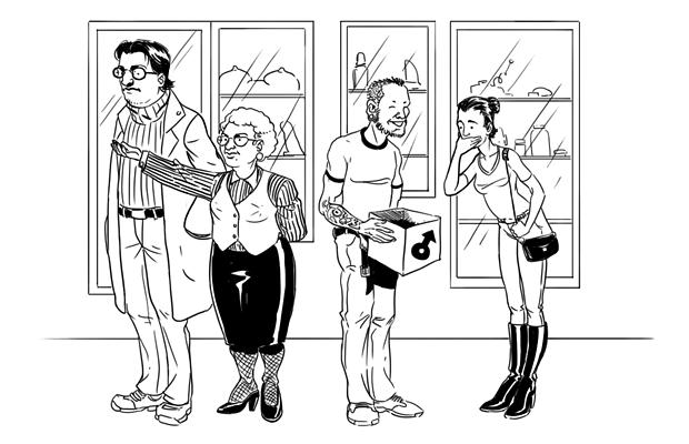 Как всё устроено: Сотрудник секс-шопа. Изображение №1.