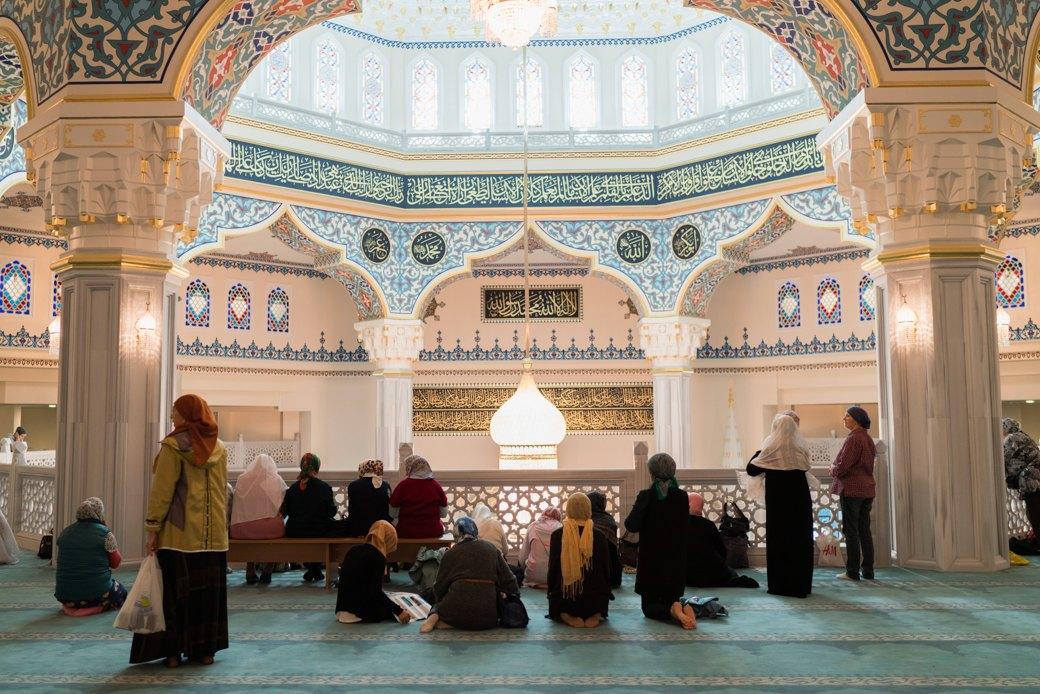 80-метровые минареты иместо для 10тысяч верующих — как выглядит Московская Соборная мечеть. Изображение № 11.