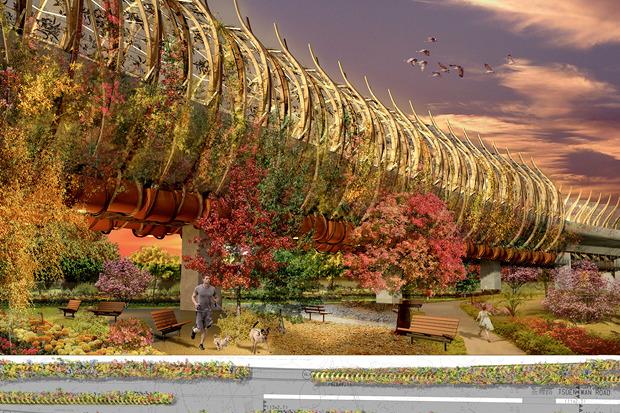 Иностранный опыт: 8 фантастических городских проектов. Изображение № 9.