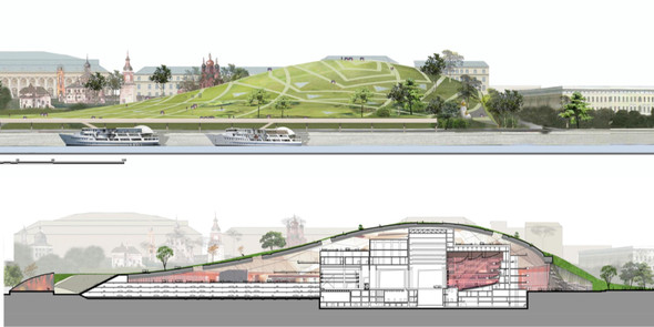 Москомархитектура выбрала 118 проектов парка в Зарядье. Изображение № 41.