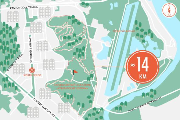 Пять маршрутов для пробежек. Изображение №13.