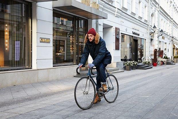 В диких условиях: Велосипед против автомобиля в –10 ˚C. Изображение № 7.