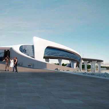 Через Неву предлагают построить двухъярусный мост с магазинами и ресторанами. Изображение № 4.