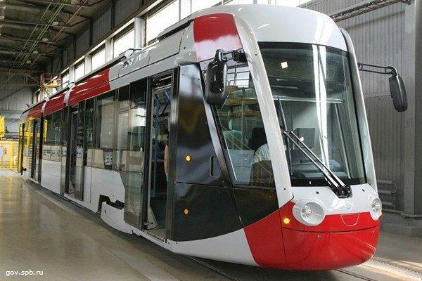 В Петербурге появится новый вид низкопольных трамваев. Изображение № 1.