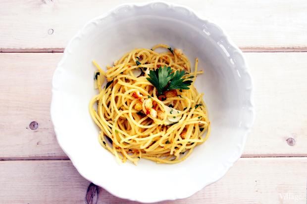 Рецепты шефов: Spaghetti Aglio, Olio e Peperoncino. Изображение № 3.