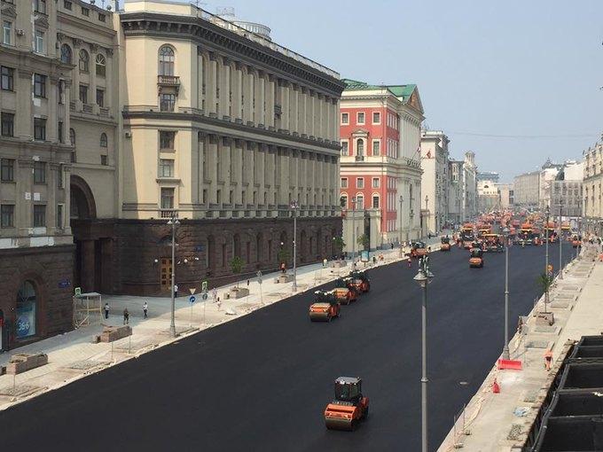 тверская после ремонта 2016 фото