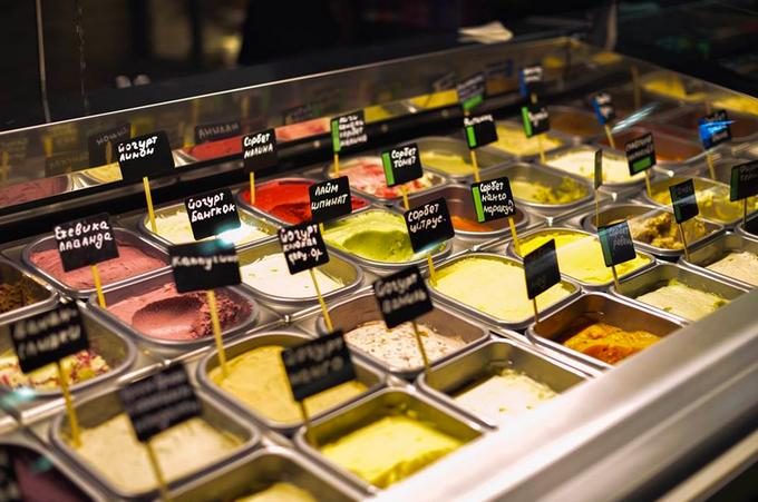 В «Москва-Сити» открылось кафе-мороженое Tim&Tim. Изображение № 1.