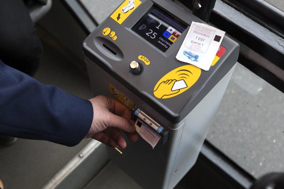 Как работает терминал для оплаты проезда в троллейбусе. Изображение № 4.