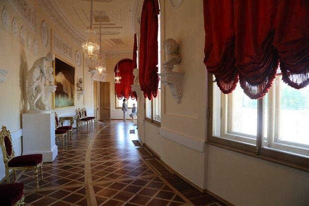 ВБольшом Гатчинском дворце после реставрации откроются четыре зала. Изображение № 2.