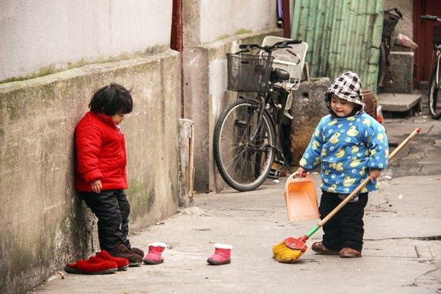 Часть целого: Старый город вШанхае. Изображение № 20.