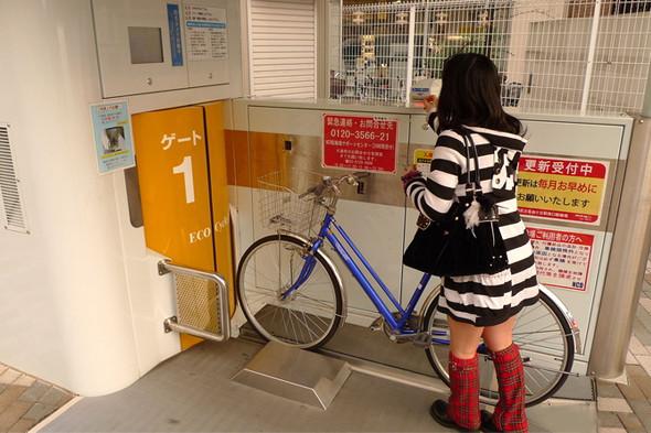 Идеи для города: Подземные велопарковки в Японии. Изображение №14.