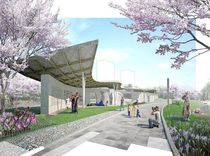 Наберегу Охты построят парк для семейного отдыха . Изображение № 3.