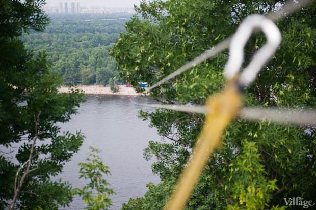 Над Днепром появилась верёвочная переправа. Зображення № 2.